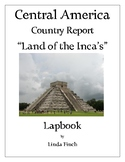 Central America Country Report Lapbook