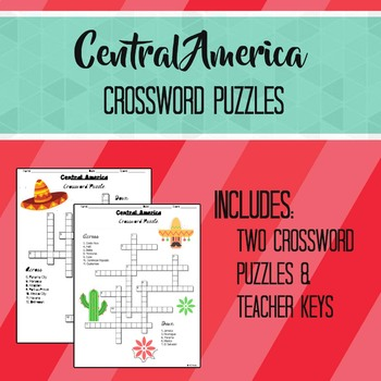 Central America Crossword Puzzles