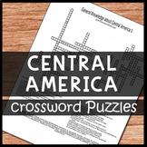 Central America Crossword Puzzles