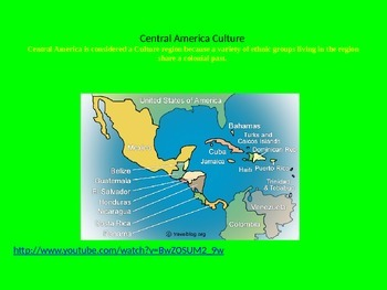 Central America Culture Powerpoint