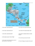 Central America: Geographic Map