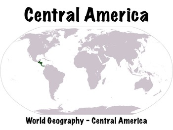 Central America Geography PowerPoint