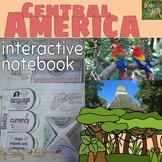 Central America Interactive Notebook