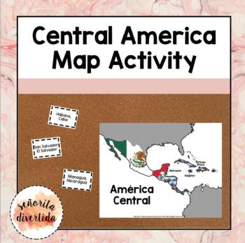 Central America Map Activity / Actividad del mapa de América Central