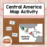Central America Map Activity / Actividad del mapa de Améri
