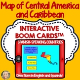 Central America and Caribbean Geography Boom Cards, Click and Type to Play, Maps