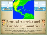 Central America and Caribbean Geography Unit and Bundle