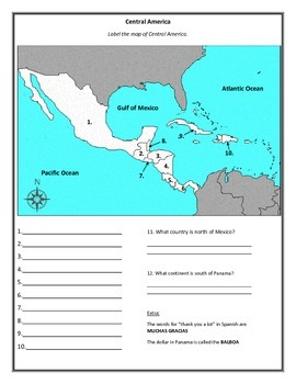 Central America Countries - Aztecs and Mayans