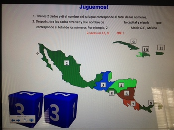 Central America and The Caribbean - Spanish Lesson