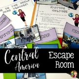 Central America and the Caribbean Escape Room Activity