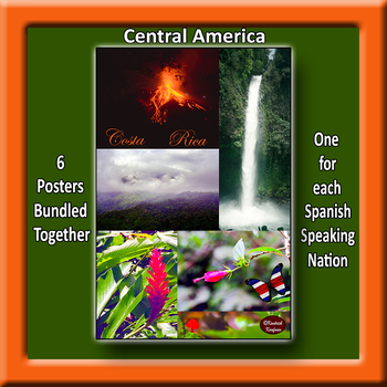Central America in Photo Posters - Vertical