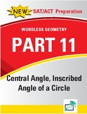 Central Angle,Inscribed Angle of a Circle - 20 pages 110 q