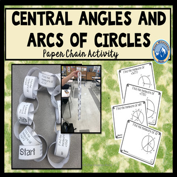 Central Angles Paper Chain Activity