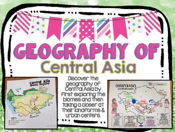 Central Asia Biome and Geography Hunt