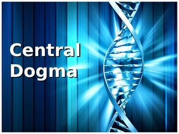 Central Dogma DNA PPT