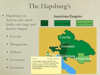 Central European Monarchs Clash PowerPoint Keynote Presentations