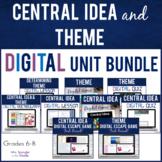 Central Idea AND Theme DIGITAL Unit BIG BUNDLE