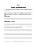 Central Idea Activity Sheet