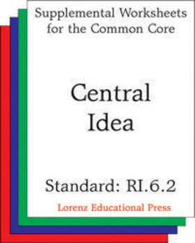 Central Idea (CCSS RI.6.2)