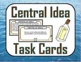 Central Idea (Theme) Task Cards