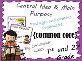 Central Idea and Main Purpose of a Text