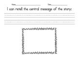 Central Message Graphic Organizer