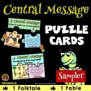 Central Message Puzzles SAMPLER