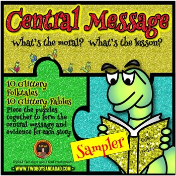 Central Message Puzzles SAMPLER