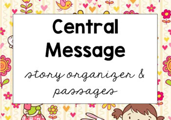 Central Message Story Organizer and Fables