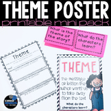 Central Message or Theme response sheet and flip flap resources