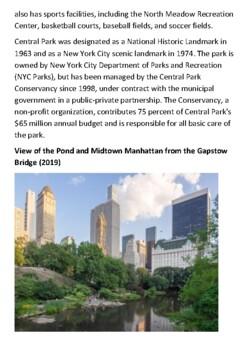 Central Park Handout