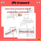 Central Processing Unit Interactive Crossword Puzzle
