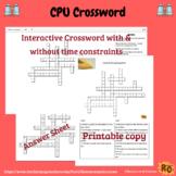 Central Processing Unit Interactive Crossword Puzzle