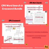 Central Processing Unit Interactive Word Search & Crosswor