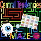 Central Tendencies Maze Activity
