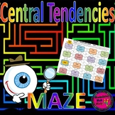 Central Tendencies Maze Activity