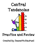 Central Tendencies (Mean Median Mode and Range) Review and