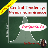 Central Tendency: Mean, Median, and Mode for Special Educa