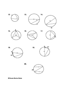 Central and Inscribed Angles by Dawn Facciolo | Teachers ...