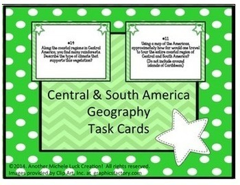 Central and South America Complete Unit Geography of Latin America