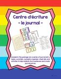 Centre d'écriture pour le journal - Journal Writing Centre in French