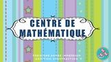 Centre de Math: Unité complet Addition et Soustraction