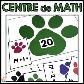 Centre de mathématique (nombres jusqu'à 20)