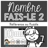 Centre De Nombres: Faise-Le 2 {Tapis De Pâte à Modeler/Casse-Tête}