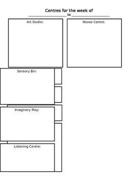 Centres Organizer