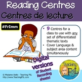 Centres de lecture - French Content-Based Reading Centres