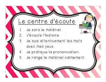 Centres de littératie/ Literacy centers