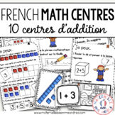 French Addition Math Centres - Addition en français!