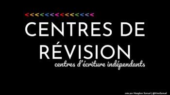 Centres de révision (with editable sections!)