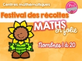 Centres mathématiques - septembre
